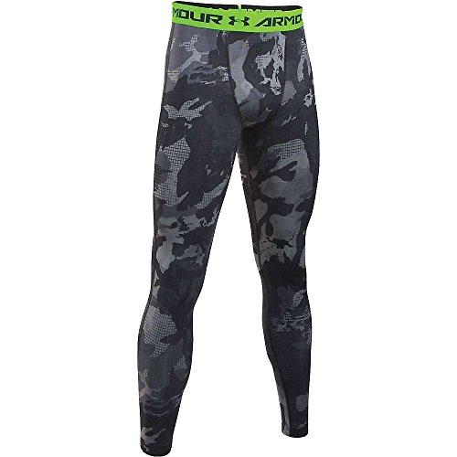 Under Armour Herren UA HG Printed Leggings Fitness-Hosen & Shorts, Schwarz, M