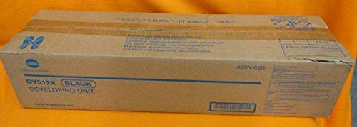 - Genuine konica Minolta Black Developing Unit DV-512K for Bizhub C554 C454 C284 C364