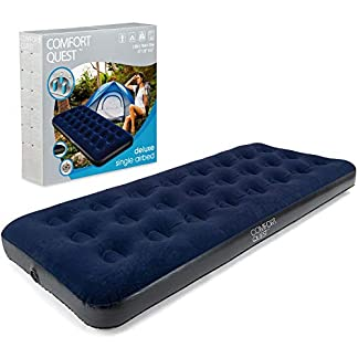Comfort Quest Airbed Inflatable Blow Up Camping Mattress Guest Air Bed 13
