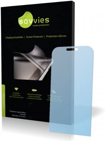 Display Protection Film Protective Film 100/% fits Savvies Crystalclear Screen Protector for Acer neoTouch P300