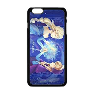 Cool Painting Frozen Princess Elsa and Anna Cell Phone Case for Iphone 6 Plus