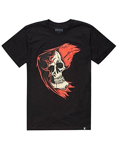Famous Stars And Straps REAPER BADGE Men's Short Sleeve T-Shirt Black -
