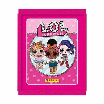 Panini L.O.L. Sorpresa! Paquete DE 10 Pegatinas (10 Paquetes sellados)