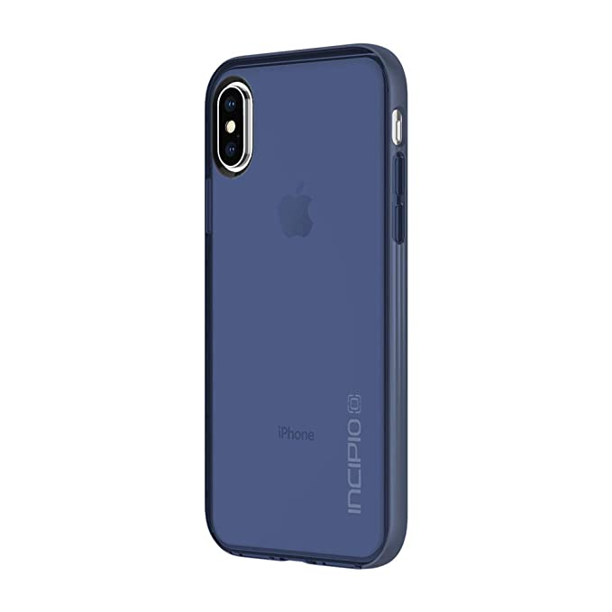 best sneakers 4aa33 d467d Incipio Octane LUX iPhone X Case with Translucent Interior and Metallic  Bumper for iPhone X - Midnight Blue