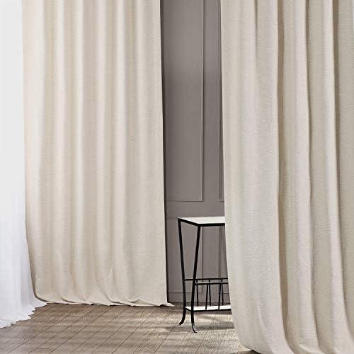 HPD Half Price Drapes BOCH-PL4201-120 Bellino Blackout Room Darkening Curtain 1 Panel