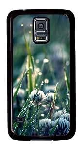Clover field Custom Samsung Galaxy S5/Samsung S5 Case Cover Polycarbonate Black