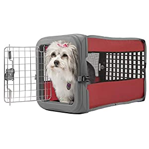 Small Pop Crate Red – Dog House Dogs Cats Houses Kennel Crate Play Pen Igloo Outdoor Indoor – Sale! Click on image for further info.
