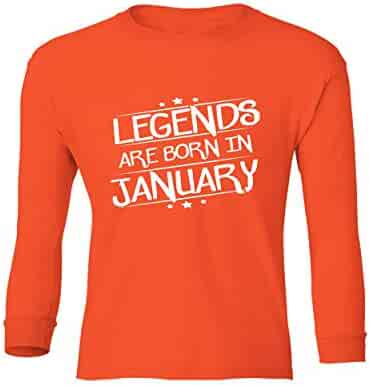 Marky G apparel Boys Legends Are Born In January T-Shirt
