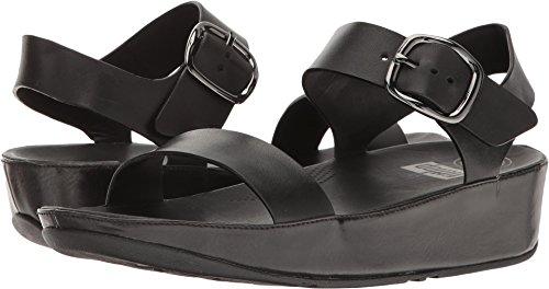 FitFlop Women's Bon Backstrap Sandals (All Black,9B) Bon Bon 3 Sandal