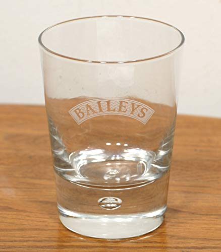 Baileys Bubble in Base Irish Cream Whiskey Glass