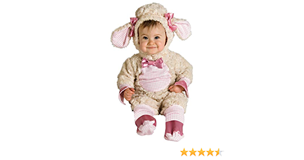 6-12 Months Rubies 885827 Baby Pink Lamb Costume