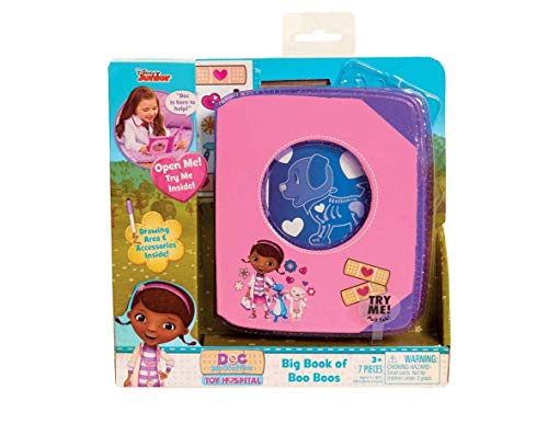 (Doc McStuffins Big Book of Boo Boos for Little Hands Ages 3 and)