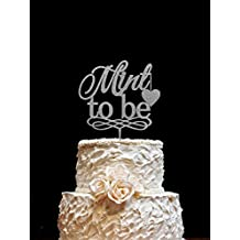 Mint To Be Wedding Cake Toppers Silver Wedding Cake Decorations,Unique Wedding Gifts