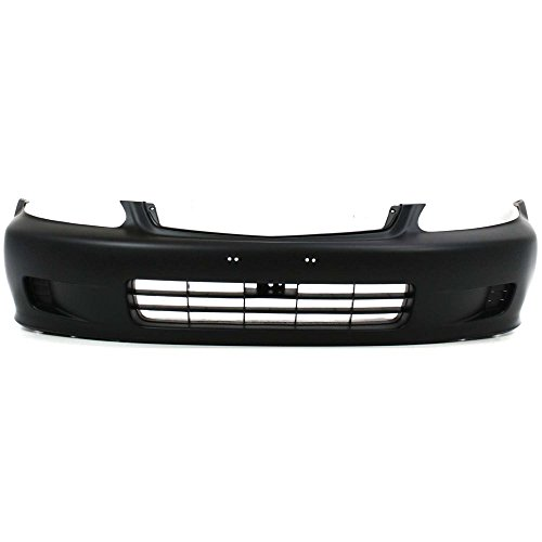 New Evan-Fischer EVA17872013163 Front BUMPER COVER Primed for 1999-2000 Honda Civic