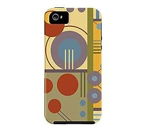 A12 iPhone 5/5s Botany Journal Tough Phone Case - Design By Humans wangjiang maoyi