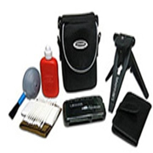 Lenmar DCK1000 Digital Camera Starter Kit: Tripod Case Card Reader Cleaning Kit Media Case consumer electronics Electronics
