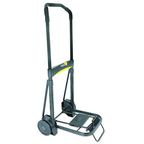 Kantek Folding Cart with Locking Telescoping Handle, 250 Pound Capacity (LGLC200) ()