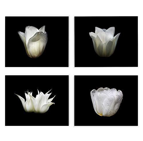 White Tulip Wall Art, 8