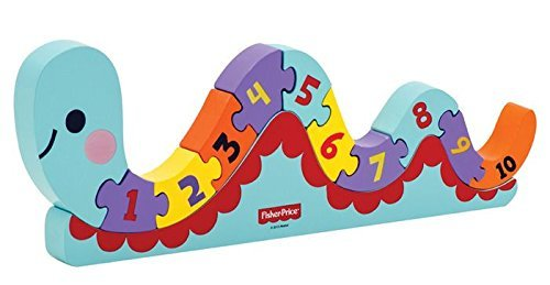 First Counting Worm Puzzle pcs