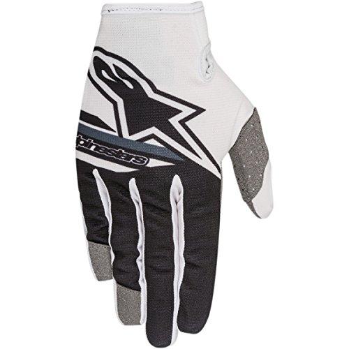 Alpinestars Radar Flight Big Boy's Off-Road Gloves - White/Black / Medium