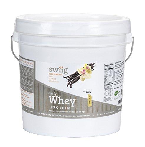 swiig Daily Whey Matrix Vanilla – 8lb For Sale