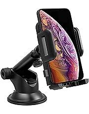 Mpow Handyhalterung Auto KFZ Smartphone Halterung Armaturenbrett/Windschutzscheibe Handy Halter für Auto,2 in 1 Handyhalter fürs Auto für alle Handys bis zu 3,7 Zoll,Wie iPhone,Galaxy,HTC,LG oder GPS