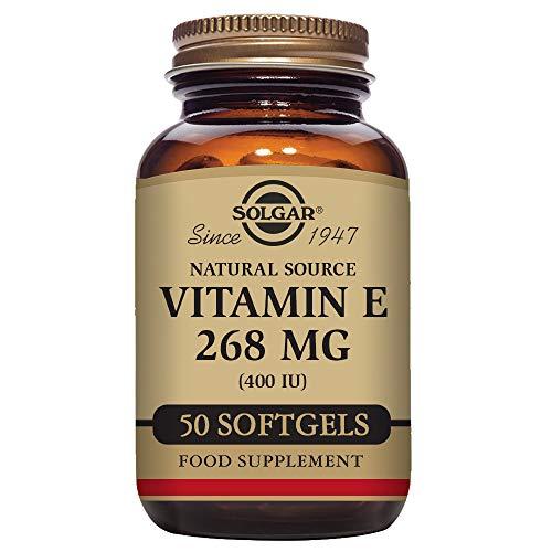 Solgar – Vitamin E 400 IU (d-Alpha Tocopherol & Mixed Tocopherols) 50 Mixed Softgels Review