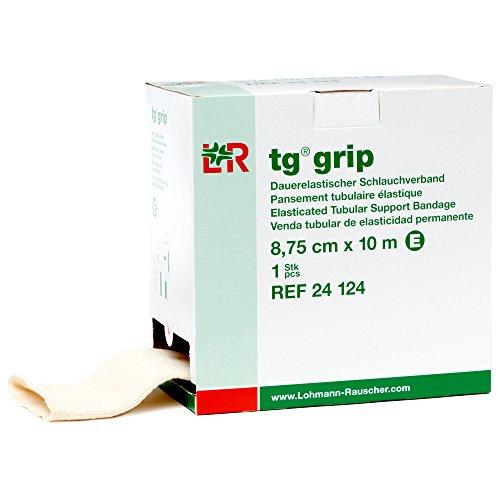 tg grip Elastic Tubular Compression Bandage, Seamless Tube Stockinette Wrap for Retention, Lymphedema, & Swelling, 85% Cotton, Washable & Reusable, Size E (Tg Tubular Bandage)