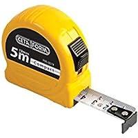 Ceta Form P05-0519 Compact Şerit Metre, Sarı, 5 M X 19 Mm
