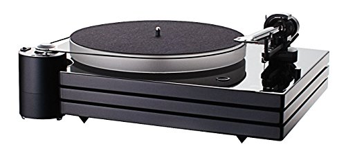Price comparison product image Music Hall MMF9.3 Turntable with 1-piece Carbon-fiber Tonearm,  Triple-Plinth,  Dust Cover