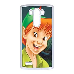 LG G3 Cover Cell phone Case Efrec Peter Pan Plastic Durable Cases