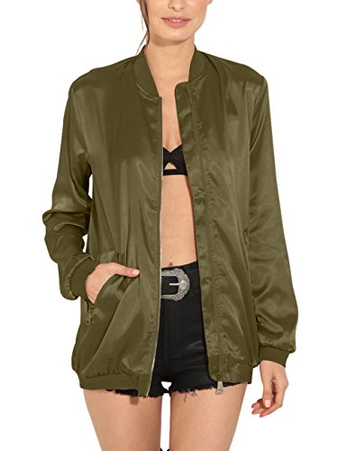 just quella Womens Classic Bomber product image