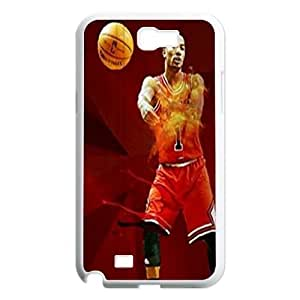 Derrick Rose Customized Case for Samsung Galaxy Note 2 N7100, New Printed Derrick Rose Case