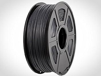 Bobina Filamento HIPS Negro, 1.75MM, 1KG, impresora 3D (FDM, PRUSA ...