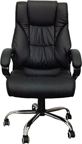 Exacme High Back Leather Office Chair with Metal Base (6155-3075)