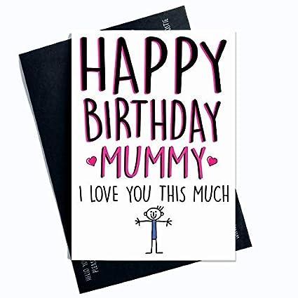 Tarjetas de cumpleaños para mamá feliz cumpleaños mamá I ...