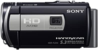 Sony HDRPJ200EB - Videocámara HD Flash (Pantalla de 2.7 Pulgadas ...