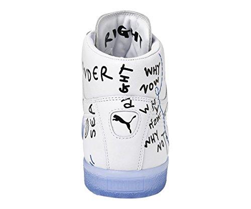 Bianco Mid SM Celeste 5 Sneakers 40 Bianco Puma Clyde 365897 01 v61Rnq