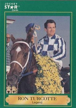 Ron Turcotte trading card (Horse Racing) 1991 Jockey Star #21 - Ron Turcotte Horse