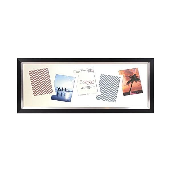 Inov8 Photo Frame, Paramount Black, 5 X 6 X 4-Inch, Pack Of 2