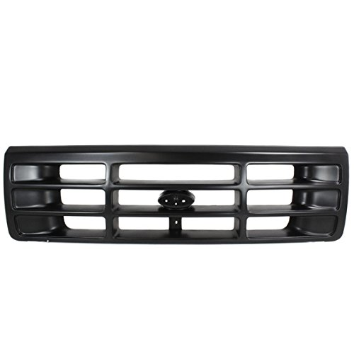 Bronco Assembly 96 Ford Grille (92-97 F-Series Pickup Truck Front Grill Grille Assembly FO1200172 F6TZ8200AAA)