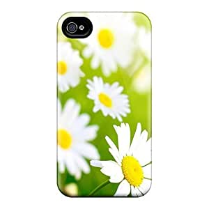 Cute High Quality Iphone 4/4s Spring Chamomilles Case