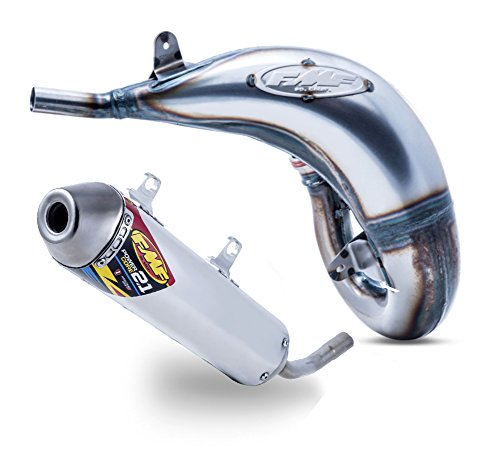 - FMF Exhaust - Factory Fatty Pipe & PowerCore 2.1 Silencer - Husqvarna TC125 & KTM 125/150 SX 2016-2018_025183|025191