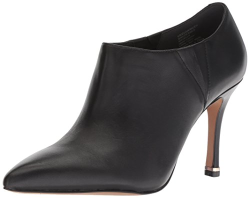 Kenneth Cole New York Women's Magella Slip On Heeled Bootie Ankle Boot, Black, 7 M US ()