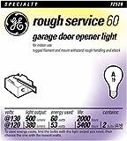 GE Lamps 72529 60-Watt A19 Garage Door Opener, 2-Pack