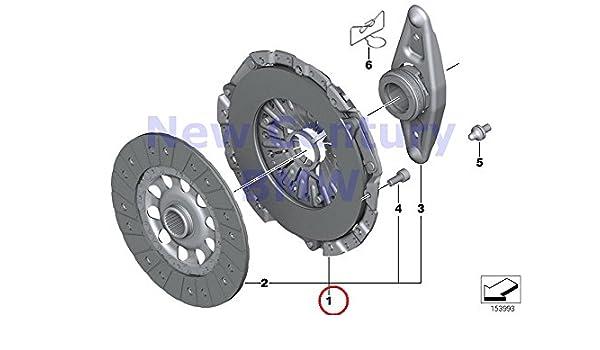 Amazon.com: Genuine BMW F20 F21 F22 F23 F30 Clutch Kit 240MM OEM 21207625147: Automotive