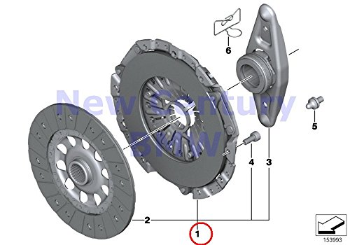 Genuine BMW F20 F21 F22 F23 F30 Clutch Kit 240MM OEM for sale  Delivered anywhere in USA