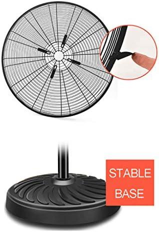 Ventilatore Elettrico ad Alta Potenza Ventilatore a Pavimento oscillante - Ventilatore Commerciale Industriale - 55/70/80 CM