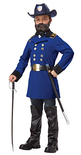 California Costumes Union General Ulysses S. Grant Boy Costume, One Color, X-Large