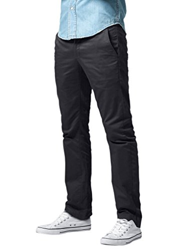 Match Men's Regular Fit Straight Leg Dress Pants (32, 8089 Army gray) (Casual Pants For Men compare prices)